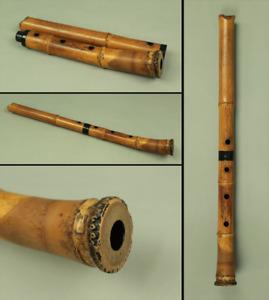尺八 SHAKUHACHI BAMBOO 琴古流 KINKO-ryu school Japanese Traditional Instrument S183