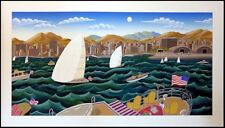 """Thomas McKnight """"San Diego America's Cup"""" 1992 Hand Signed Make an Offer!"""