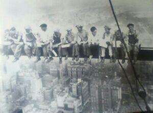 Iconic image of Lunch in New York 1932 ,Workmen on Girder ,Rockafella Centre