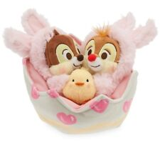 Oficial Disney Store Easter Bunny Chip'n' Dale Suave Juguete Peluche Bebé Tac Tic And