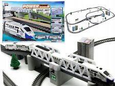 Modelleisenbahn Elektrische Zug Eisenbahnzug Eisenbahn Lokomotive 4Waggons 914cm
