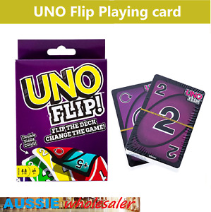 UNO FLIP! PLAYING CARDS Double Sided Cards - Flip The Deck Change The Game