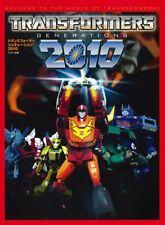 Transformers Generations 2010 Japan Book