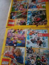 2 ungelesen Halbjahr NEU LEGO Händlerkatalog Neuheiten 2017