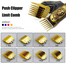 8pcs Premium Hair Limit Clipper Cutting Guide Comb Guards Set For Wahl Clippers