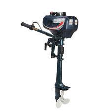3.5/4/6/6.5/7-Hp 2/4-Stroke Outboard Motor Boat Engine, Water/Air Cooling System
