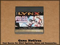 Dracula the Undead - Atari Lynx - Game Only - FREE SHIPPING!