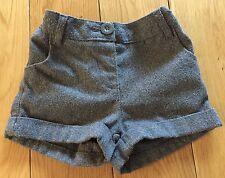 Baby Girls Grey Sparkle Shorts Size 18-24 Months