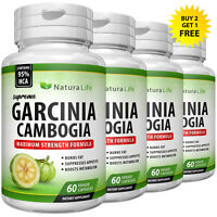 PURE GARCINIA CAMBOGIA EXTRACT 95% HCA Keto Weight Loss Diet Pills Fat Burner