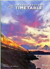 """Amtrak (N.R.P.C.), system passenger time table, May 11, 2009 - BOOK FORM 11"""" X 8"""