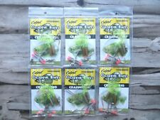 6 - CULPRIT CRAPPIE RIGS WITH TASSEL TAIL GRUBS - CRAPPIE FISHING