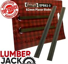 Lumberjack 82mm Electric Planer Replacement Blades (Pair of)