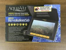NEW In The BOX Aqua Vu Av Micro 5.0 Revolution Underwater Camera Free Shipping