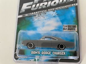 FAST & FURIOUS  1.64 SCALE DOM'S DODGE CHARGER 2011 SERIES 1