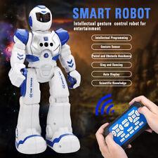 RC Smart Robot Sing Dance Walking Remote Control Robot Electronic Kids Led Toy
