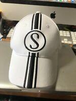 Schwinn Stingray Grey Ghost & Cotton Picker baseball caps w/metal Stingray tags