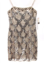 NITELINE $298 NEW 13627 Strapless Embellished Coctail Womens Dress 6P