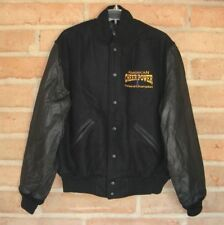 American Cheer Power National Champion Wool & Leather Varsity Jacket Adult M