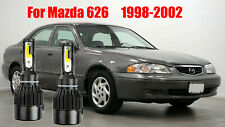 LED For MAZDA 626 1998-2002 Headlight Kit H4/9003 6000K CREE Bulbs Hi/Lo Beam