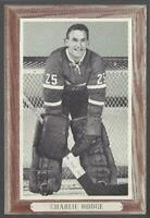 1964-67 Beehive Group III Photos Montreal Canadiens #108 Charlie Hodge
