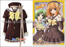 Shuffle Cosplay Costume School Girl Winter Uniform H008