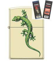 Zippo 216 Lizard Barrett Smythe Lighter with *FLINT & WICK GIFT SET*