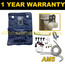 UNIVERSAL 12V SINGLE OUTLET KIT + 1.8 LITRE BAG WINDSCREEN WASHER WATER PUMP