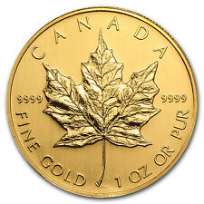 2006 Canada 1 oz Gold Maple Leaf BU - SKU #11423