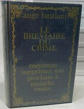 Bastiani. Le bréviaire du crime,  1968…World FREE Shipping*