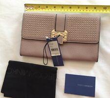 NWT Rebecca Minkoff Coco Clutch With Studs Wallet Purse Tortora New MSRP $225