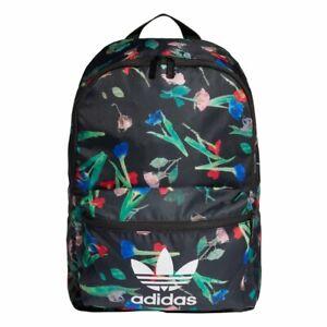 New adidas Originals Classic Women's Backpack Trefoil Bag School NWT ED5886 Rare