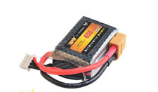 Rc Lipo Battery 11.1v 650MAH 25c 3S XT60 T JST SM Fit Nine Eagle 250 helicopter