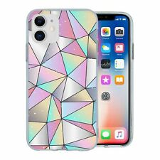 For Apple iPhone 11 Silicone Case Bling Geometric Diamond Pattern - S662