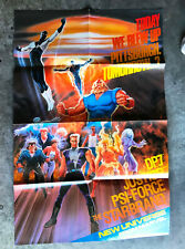 NEW UNIVERSE - Vintage 22x34 Huge Painted Palmer Advertising Poster - 1987