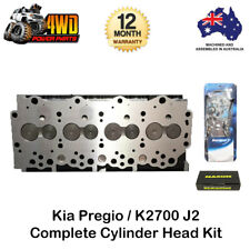 Kia Pregio K2700 J2 Complete Cylinder Head Kit 4 Cyl 8V Diesel w/ Gasket & Bolts