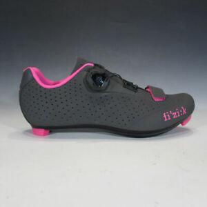 Fizik Womens R5 BOA Road Cycle Shoe (Anthracite / Fuschia, 37.5) - Retail Return