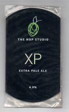 Beer pump clip front, THE HOP STUDIO, XP, EXTRA PALE ALE.