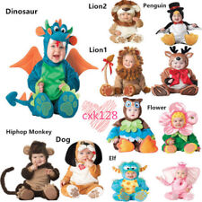 Halloween/Jumpsuit Toddler Newborn Dress Costume Infant Baby Plush Party Cosplay