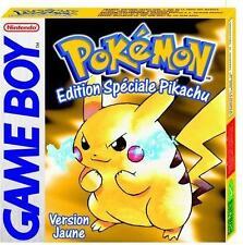 Pok?mon jaune pour Game Boy Color