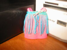 Dawn Doll's Dancing Dress, Blue Fringe, In Very Good Condition