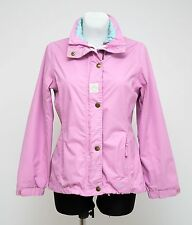 WOMENS JOULES ZIP JACKET THIN PARKA PINK SIZE UK 8 VGC