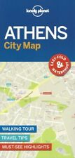 Lonely Planet Athens City Map (Greece) *FREE SHIPPING - NEW*