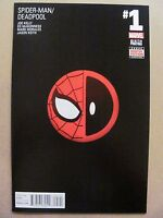 Spider-Man Deadpool #1 Marvel 2016 Series 6th Print Black Variant 9.6 Near Mint+