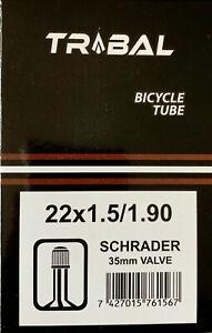 """Bicycle Bike inner tube 22"""" inch x 1.50 - 1.95"""