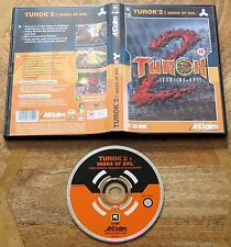 Turok 2: Seeds of Evil (PC CD-ROM) très bon état