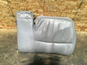 2000 2005 BUICK LESABRE FRONT LEFT DRIVER LOWER BOTTOM SEAT LEATHER GRAY OEM+