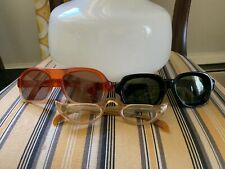 Lot of 3 Vintage 1960's Glasses Sun Cat Eye Cool Ray