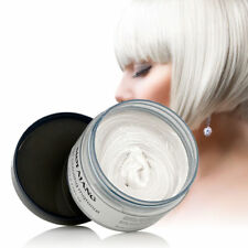 Colorful Silver Grey Color Hair Wax Men Women Dye Gray Mud styling Maker Tools
