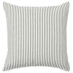 IKEA Ingalill Cushion Cover 50 x 50 cm 804.326.65 Black & White NEW