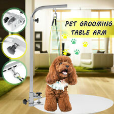 Foldable Pet Dog Grooming Table Bath  Arm Pet Beauty Desk Adjustable Portable